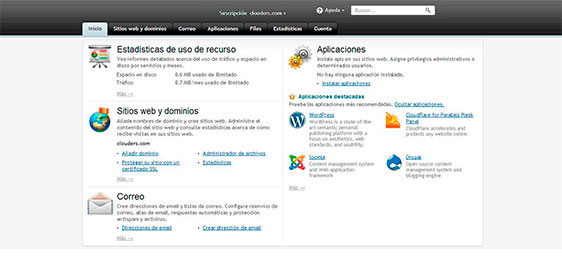 Panel-de-control-hosting-wordpress-joomla-magento-prestashop
